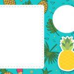 Convite Flamingo Tropical Grátis Para Imprimir Em Casa