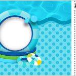 Convite Ingresso Pool Party Menino