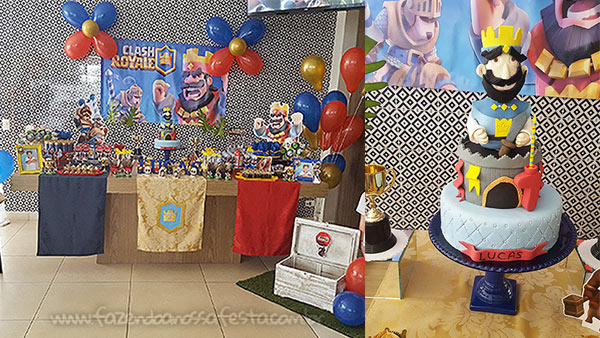 Festa Clash Royale do Lucas 12