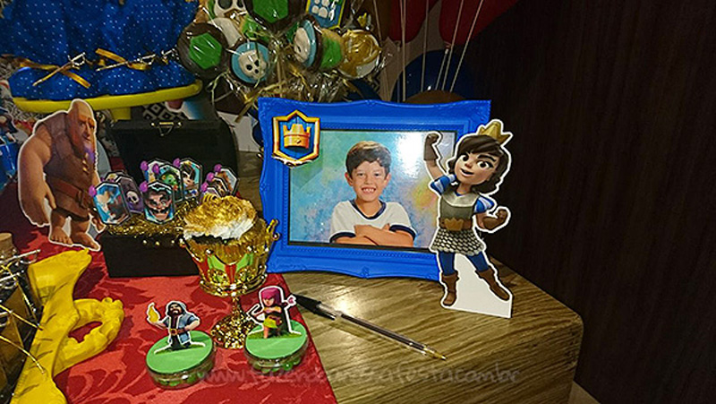 Festa Clash Royale do Lucas 6