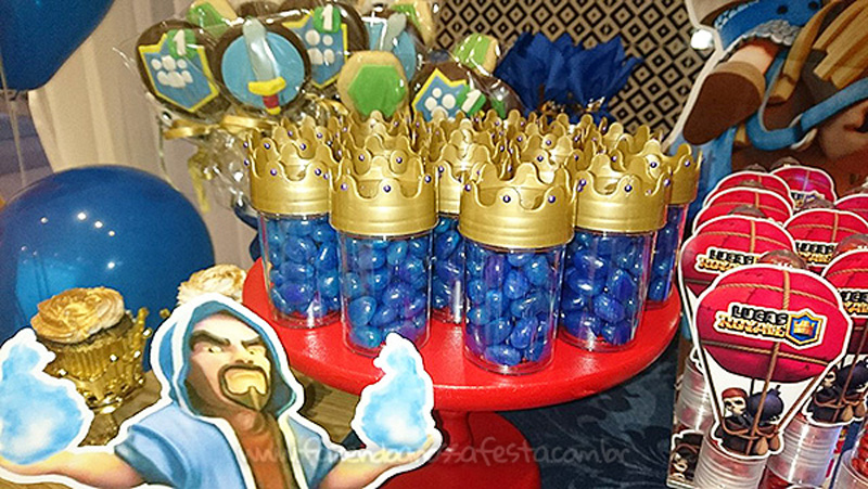 Festa Infantil Clash Royale do Lucas 5