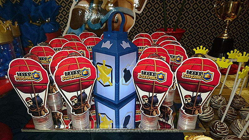 Festa Infantil Clash Royale do Lucas 6