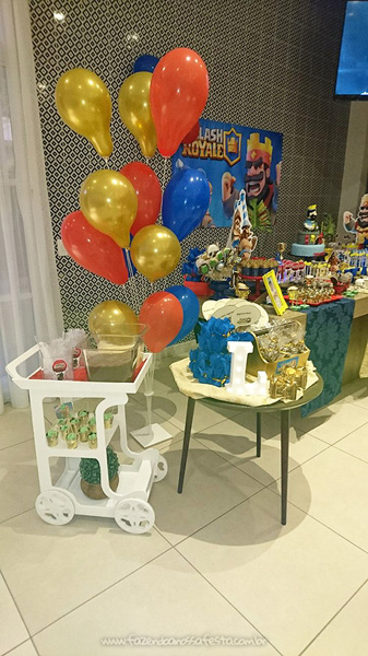 Festa Infantil Clash Royale do Lucas 9