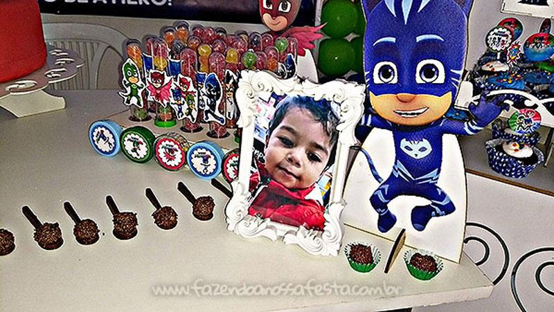 Festa Infantil PJ Masks do Levy 2