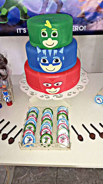 Festa Infantil PJ Masks do Levy 3
