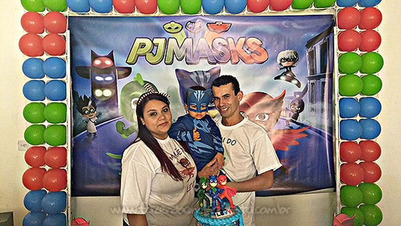 Festa PJ Masks do Levy 4