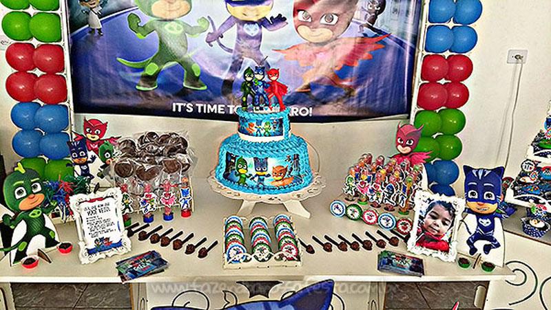 Festa PJ Masks do Levy 5