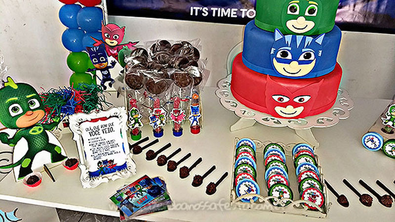 Festa Infantil PJ Masks do Levy 77