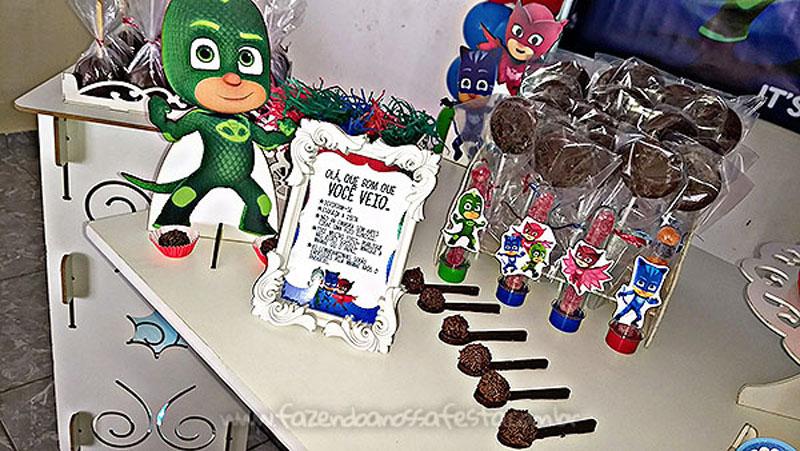 Festa PJ Masks do Levy 8