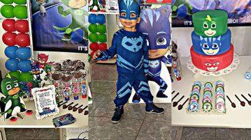 Festa PJ Masks do Levy Fazendo a Nossa Festa