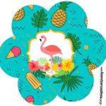 Flor Flamingo Tropical