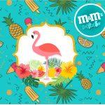 Mini MeM Flamingo Tropical Kit Festa