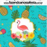 Mini Pastilha Docile Flamingo Tropical