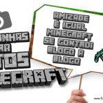 Plaquinhas Festa Minecraft Grátis para Imprimir em Casa