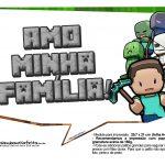 Plaquinhas para Festa Minecraft 31