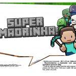 Plaquinhas para Festa Minecraft 13