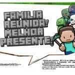 Plaquinhas para Festa Minecraft 19