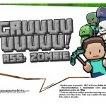 Plaquinhas para Festa Minecraft 2