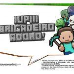 Plaquinhas para Festa Minecraft 24