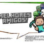 Plaquinhas para Festa Minecraft 25