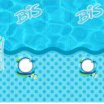 Rotulo Bis Pool Party Menino