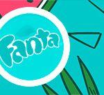 Rotulo Fanta Flamingo Tropical