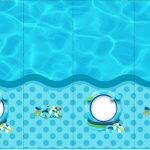Rotulo Nescauzinho Pool Party Menino