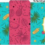 Rotulo Tic Tac Flamingo Tropical