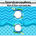 Saquinho de balas Pool Party Menino Kit Festa