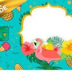 Vale Brinde Flamingo Tropical Kit Festa
