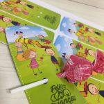 Cartão com pirulito para dia das crianças fazendo a nossa festa