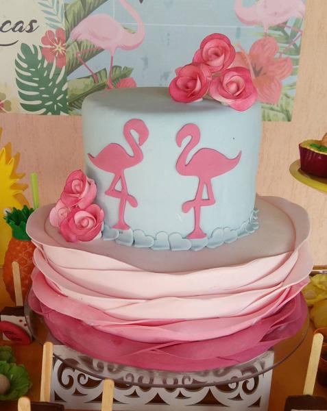 Créditos: @casademaricas Ideias Criativas para Festa Flamingo