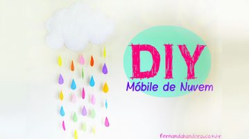 Como fazer Mobile para Festa Chuva de Amor
