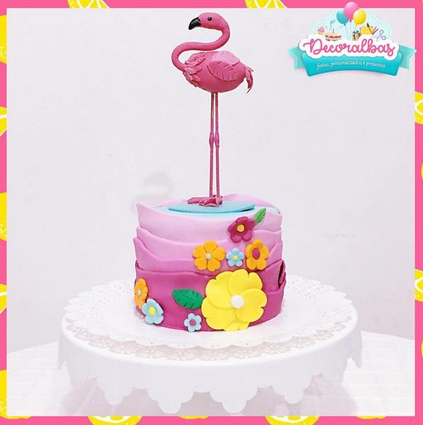 Créditos: @decoralbas Ideias Criativas para Festa Flamingo
