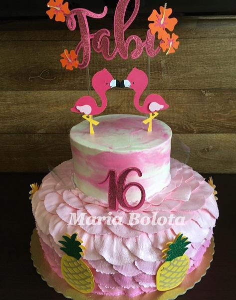 Créditos: @maria.bolota Ideias Criativas para Festa Flamingo