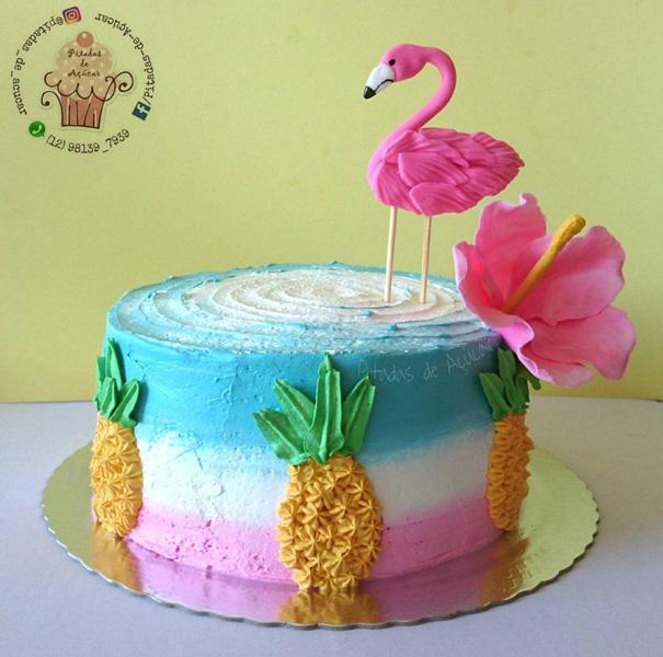 Créditos: @pitadas_de_acucar Ideias Criativas para Festa Flamingo