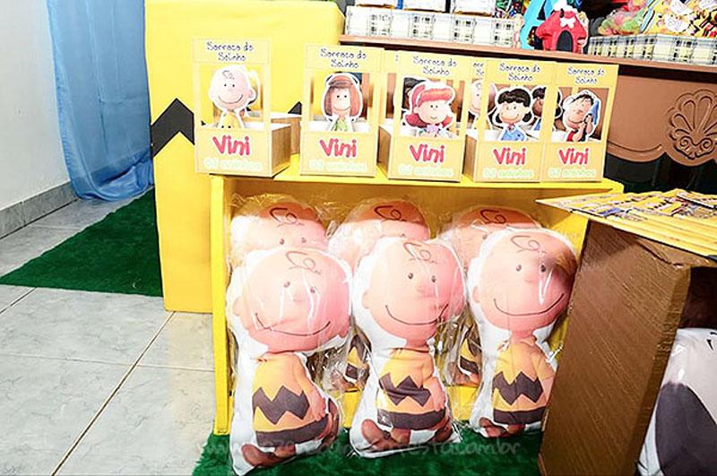 Almofadas Festa Snoopy do Vini