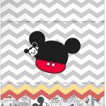 Bala Personalizada Mickey Baby Vintage