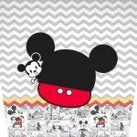 Balde de Pipoca Mickey Baby Vintage