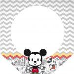 Bandeirinha Varalzinho 3 Mickey Baby Vintage
