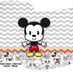 Bandeirinha Varalzinho Mickey Baby Vintage