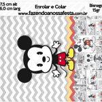Bisnaga Brigadeiro 15gr Mickey Baby Vintage