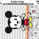 Bisnaga Brigadeiro 30gr Mickey Baby Vintage