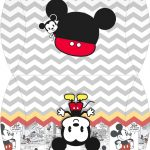 Bolsinha para lembrancinha Mickey Baby Vintage