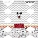 Caixa Bala Mickey Baby Vintage