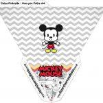 Caixa Piramide Mickey Baby Vintage