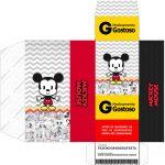 Caixa Remedio Mickey Baby Vintage