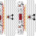 Caixa sabonete Mickey Baby Vintage Kit Festa