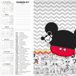 Calendario 2017 2 Mickey Baby Vintage Kit Festa