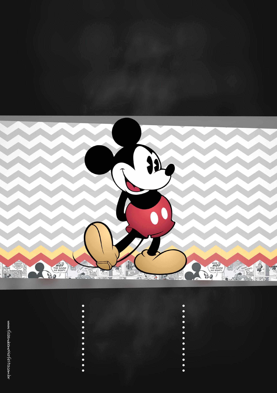 Chalkboard Mickey Mouse Vintage